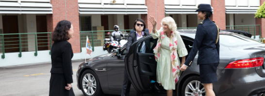 Her Royal Highness The Duchess of Cornwall visits Temasek Junior College