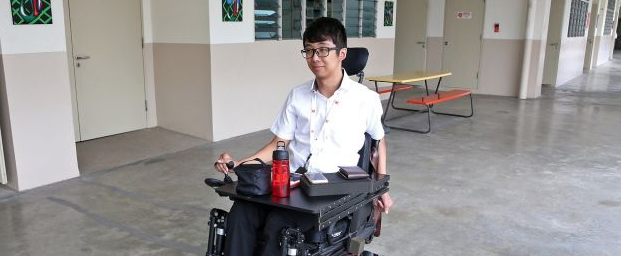 Generation Grit: Paralysed at 21, his will to live was unwavering