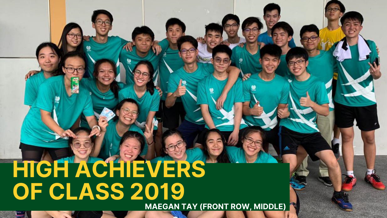 High Achievers from Class of 2019!